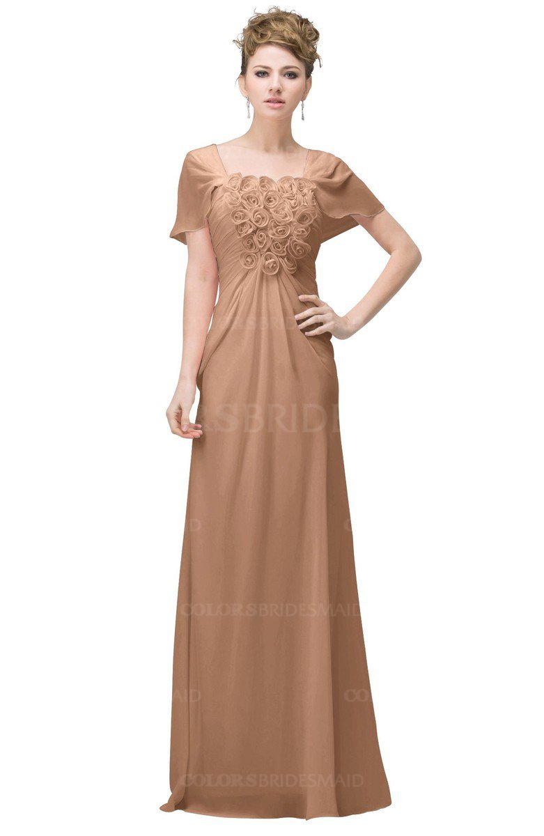 ColsBM Luna - Burnt Orange Bridesmaid Dresses