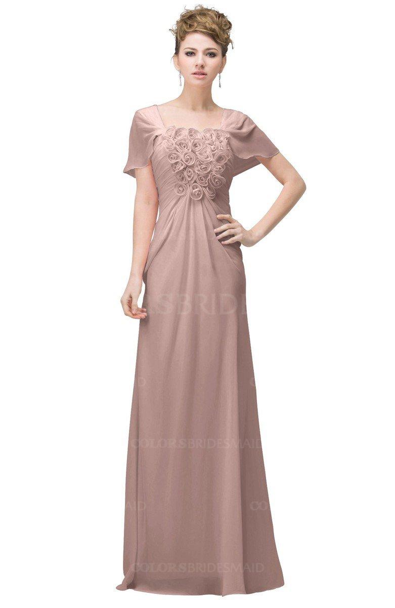 Colsbm Luna Dusty Rose Bridesmaid Dresses Colorsbridesmaid