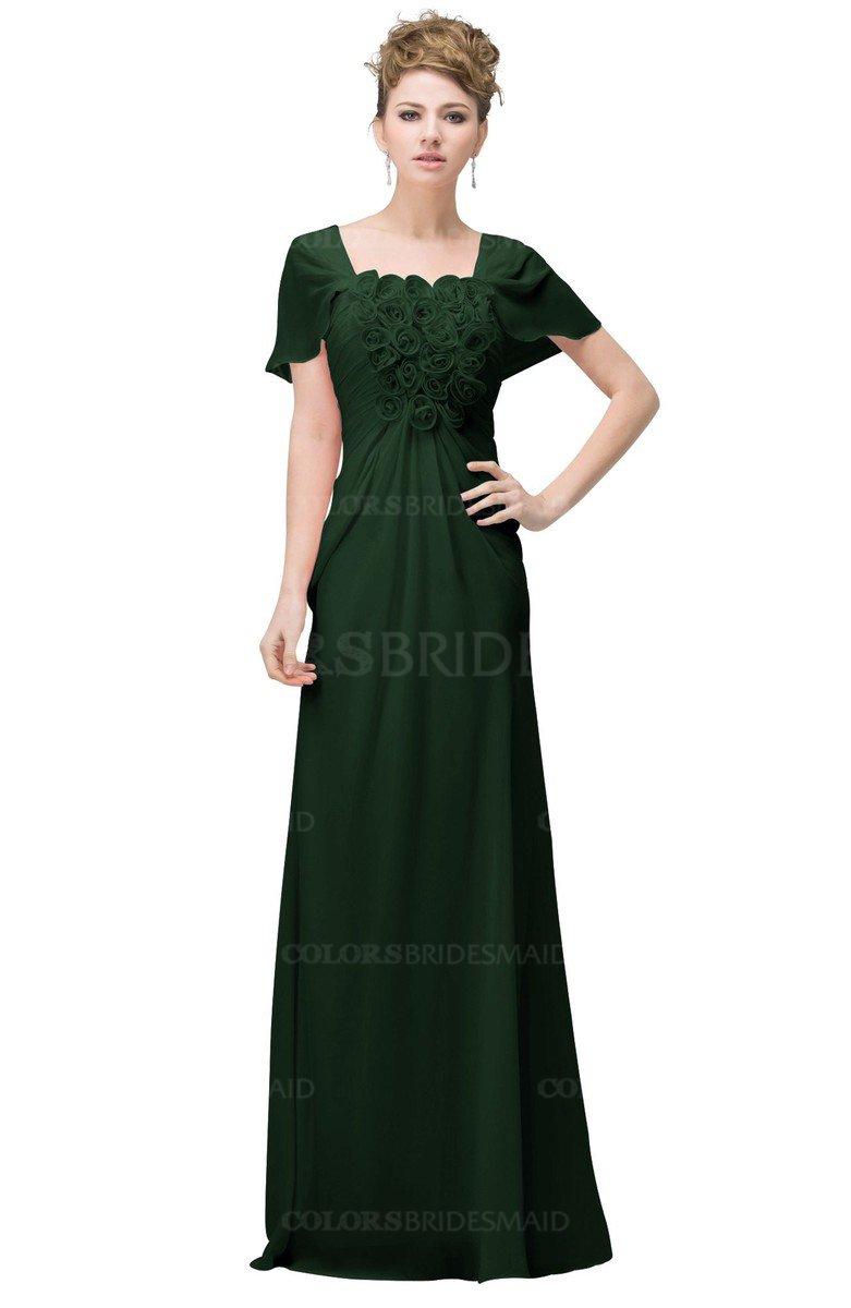 ColsBM Luna Hunter Green Bridesmaid Dresses - ColorsBridesmaid