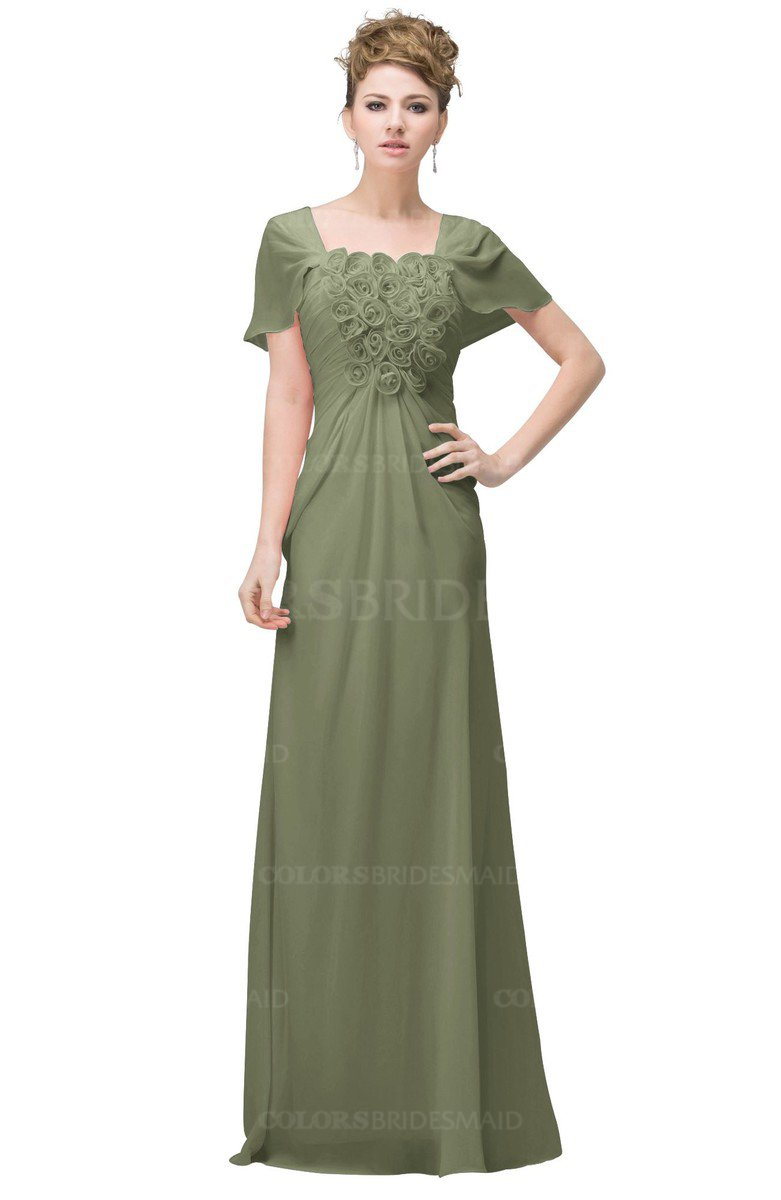 ColsBM Luna Moss Green Bridesmaid Dresses - ColorsBridesmaid