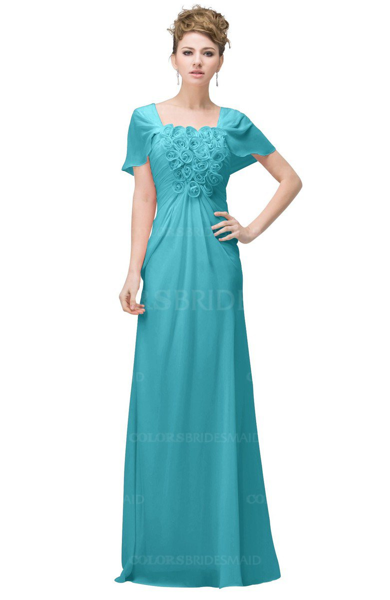 ColsBM Luna Turquoise Bridesmaid Dresses - ColorsBridesmaid