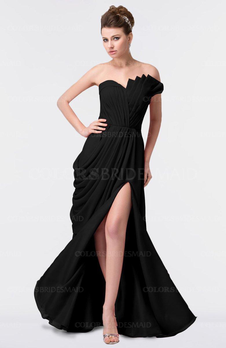 ColsBM Gwen - Black Bridesmaid Dresses