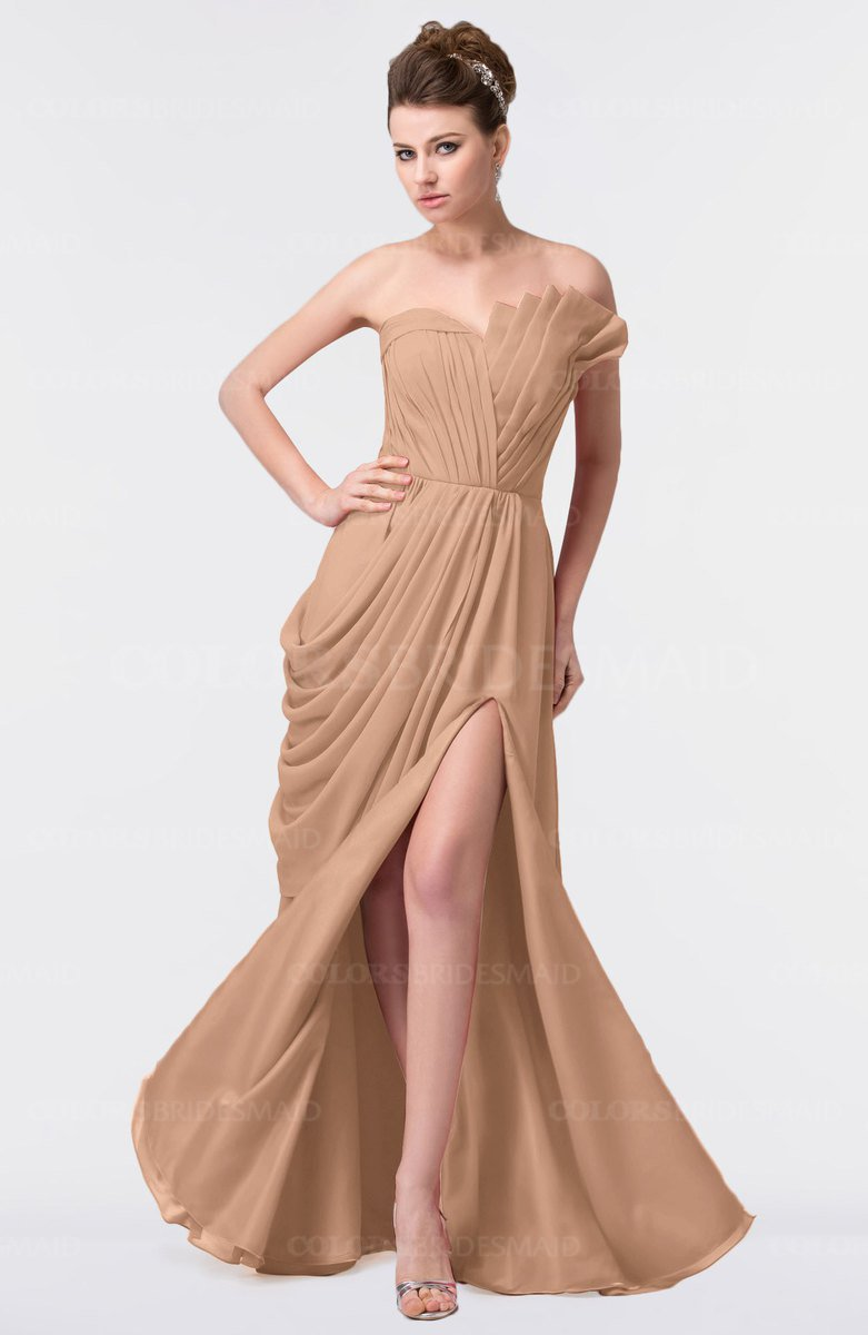 ColsBM Gwen Burnt Orange Bridesmaid Dresses - ColorsBridesmaid