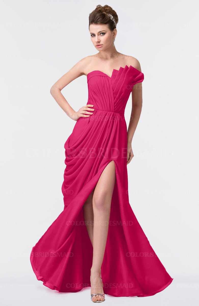 ColsBM Gwen Fuschia Bridesmaid Dresses - ColorsBridesmaid