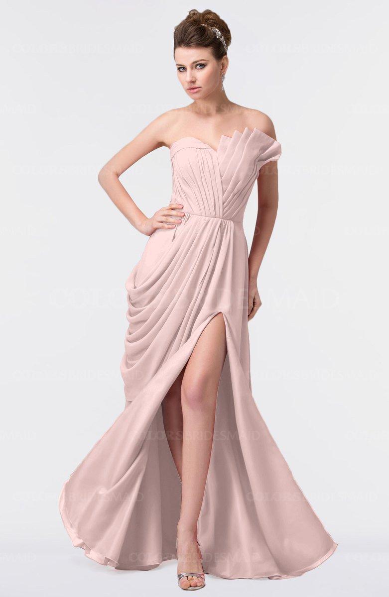 ColsBM Gwen Pastel Pink Bridesmaid Dresses - ColorsBridesmaid