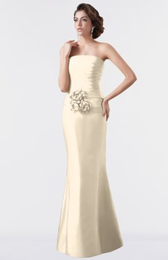 13d79afcf5e ColsBM Aria Cornhusk Classic Trumpet Sleeveless Backless Floor Length  Bridesmaid Dresses