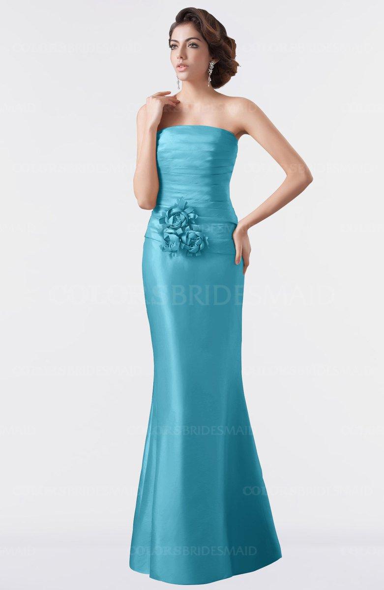 bddb475eac9 ColsBM Aria Peacock Classic Trumpet Sleeveless Backless Floor Length  Bridesmaid Dresses