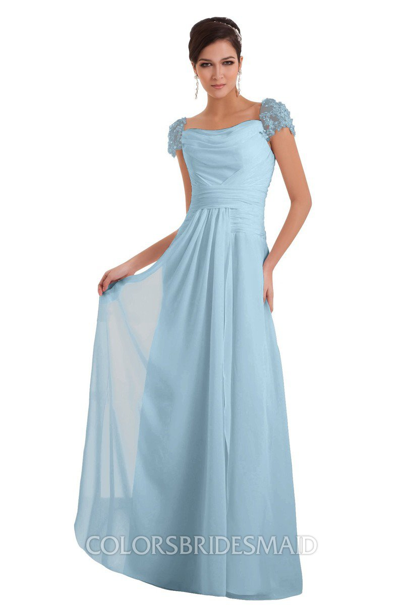ColsBM Carlee Ice Blue Bridesmaid Dresses - ColorsBridesmaid
