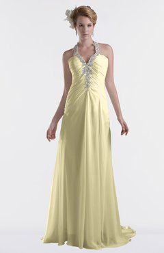 ColsBM Eden Anise Flower Cinderella A-line Sweetheart Sleeveless Criss-cross Straps Brush Train Plus Size Bridesmaid Dresses