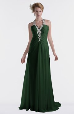 ColsBM Eden Hunter Green Cinderella A-line Sweetheart Sleeveless Criss-cross Straps Brush Train Plus Size Bridesmaid Dresses