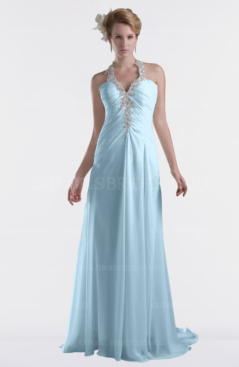 Cinderella bridesmaid dresses good dresses cinderella a line sweetheart sleeveless criss cross straps brush train plus size bridesmaid dresses ice blue ombrellifo Image collections