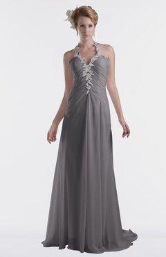 ColsBM Eden Storm Front Cinderella A-line Sweetheart Sleeveless Criss-cross Straps Brush Train Plus Size Bridesmaid Dresses