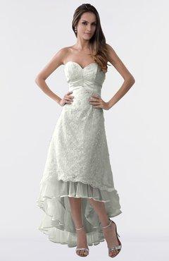 e6d6ed8789 ColsBM Isabel Platinum Simple A Line Zipper Tea Length Paillette Plus Size Bridesmaid  Dresses