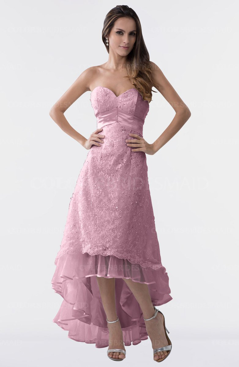 ColsBM Isabel Silver Pink Bridesmaid Dresses - ColorsBridesmaid