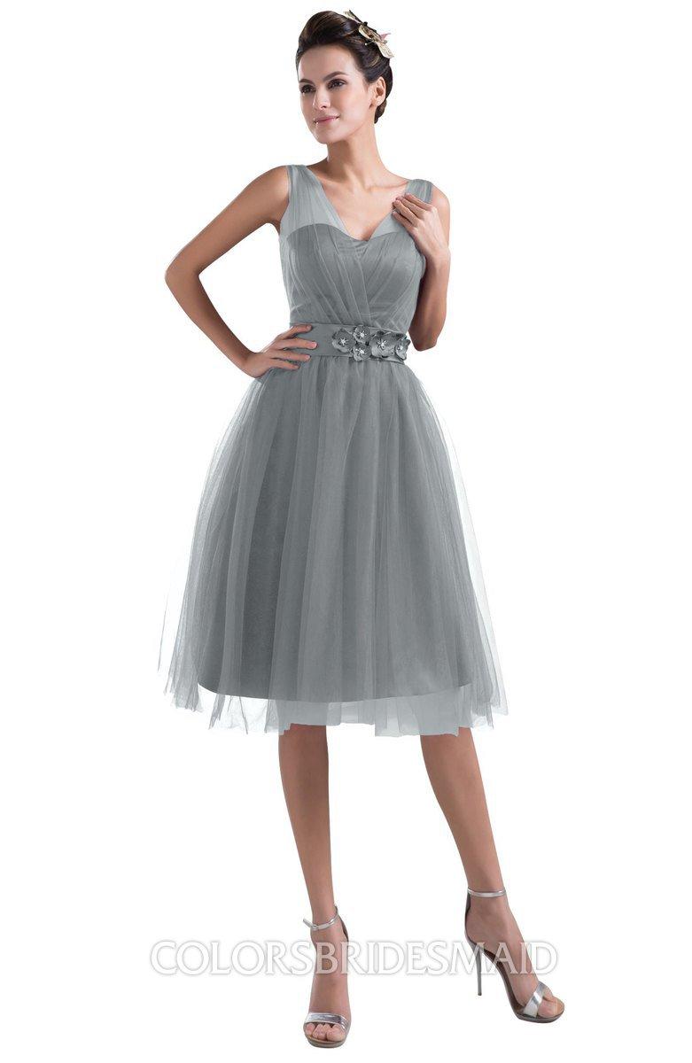ColsBM Ashley - Frost Grey Bridesmaid Dresses