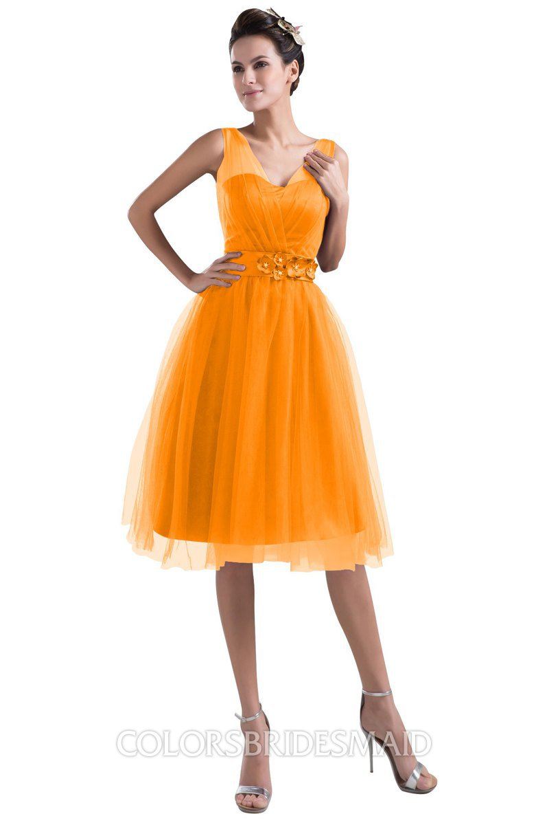ColsBM Ashley - Orange Bridesmaid Dresses
