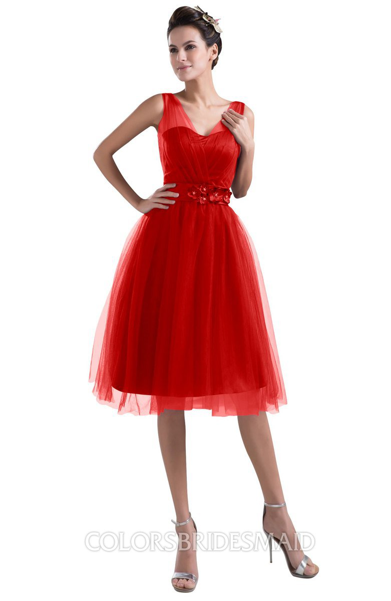 ColsBM Ashley - Red Bridesmaid Dresses