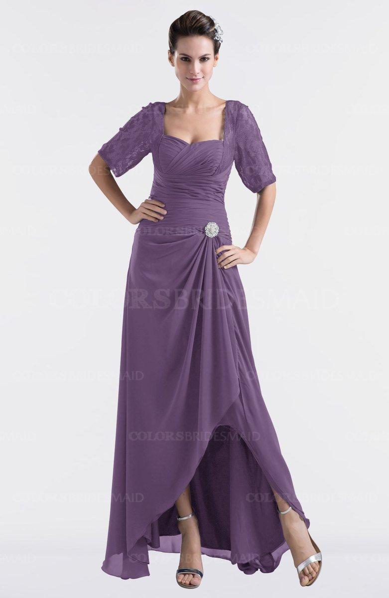 ColsBM Emilia Eggplant Bridesmaid Dresses - ColorsBridesmaid