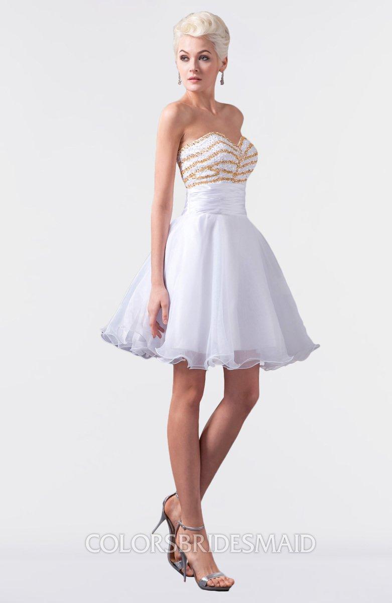 ColsBM Maci - White Bridesmaid Dresses