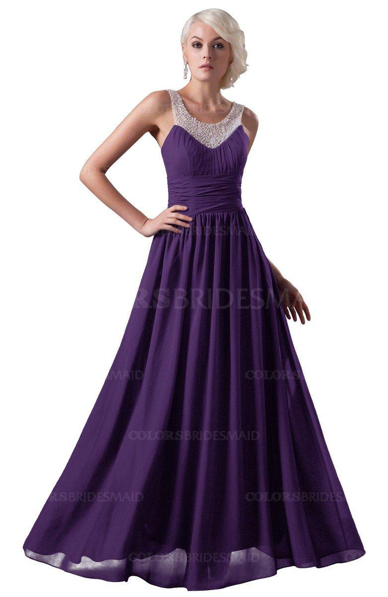 ColsBM Cora - Dark Purple Bridesmaid Dresses