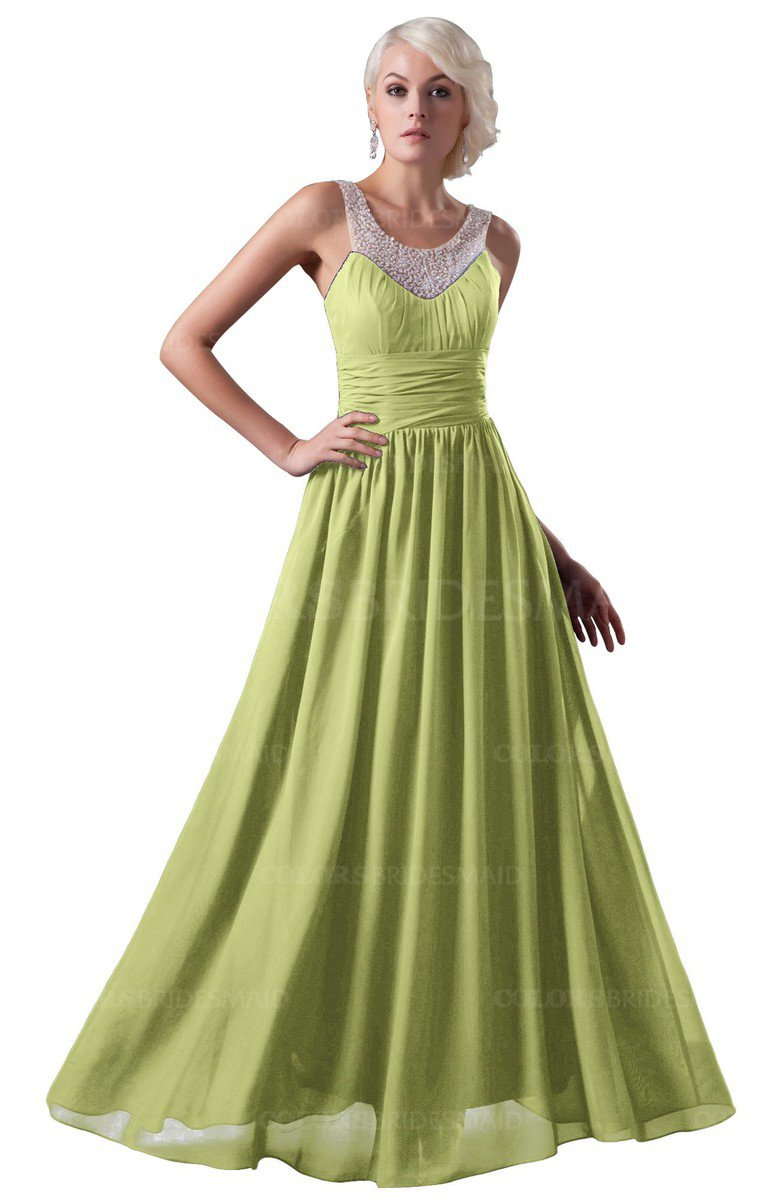 ColsBM Cora - Lime Green Bridesmaid Dresses