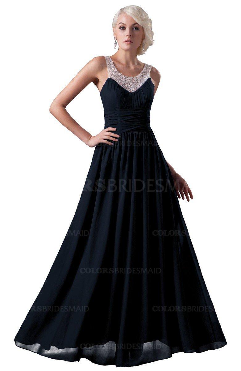 ColsBM Cora - Navy Blue Bridesmaid Dresses