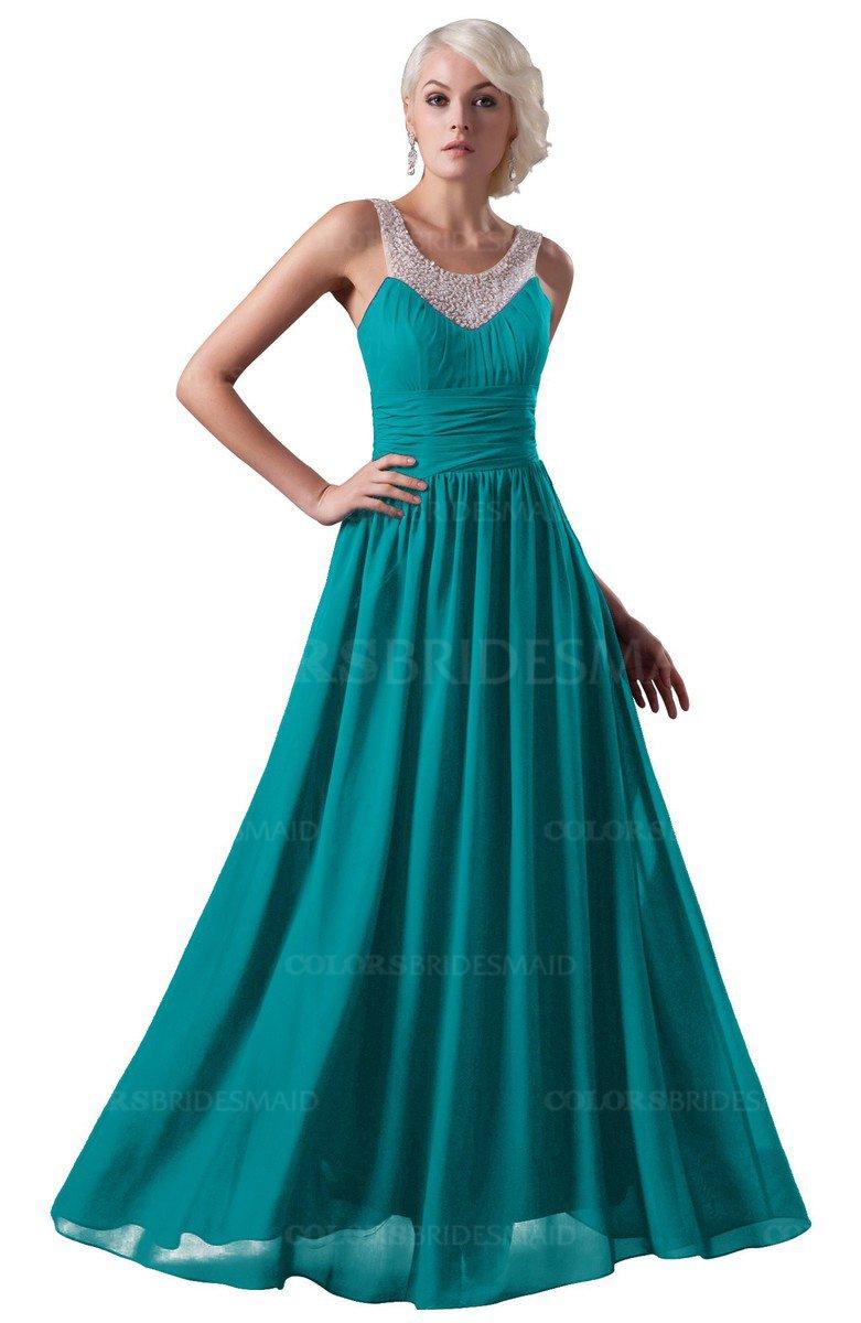 ColsBM Cora - Teal Bridesmaid Dresses