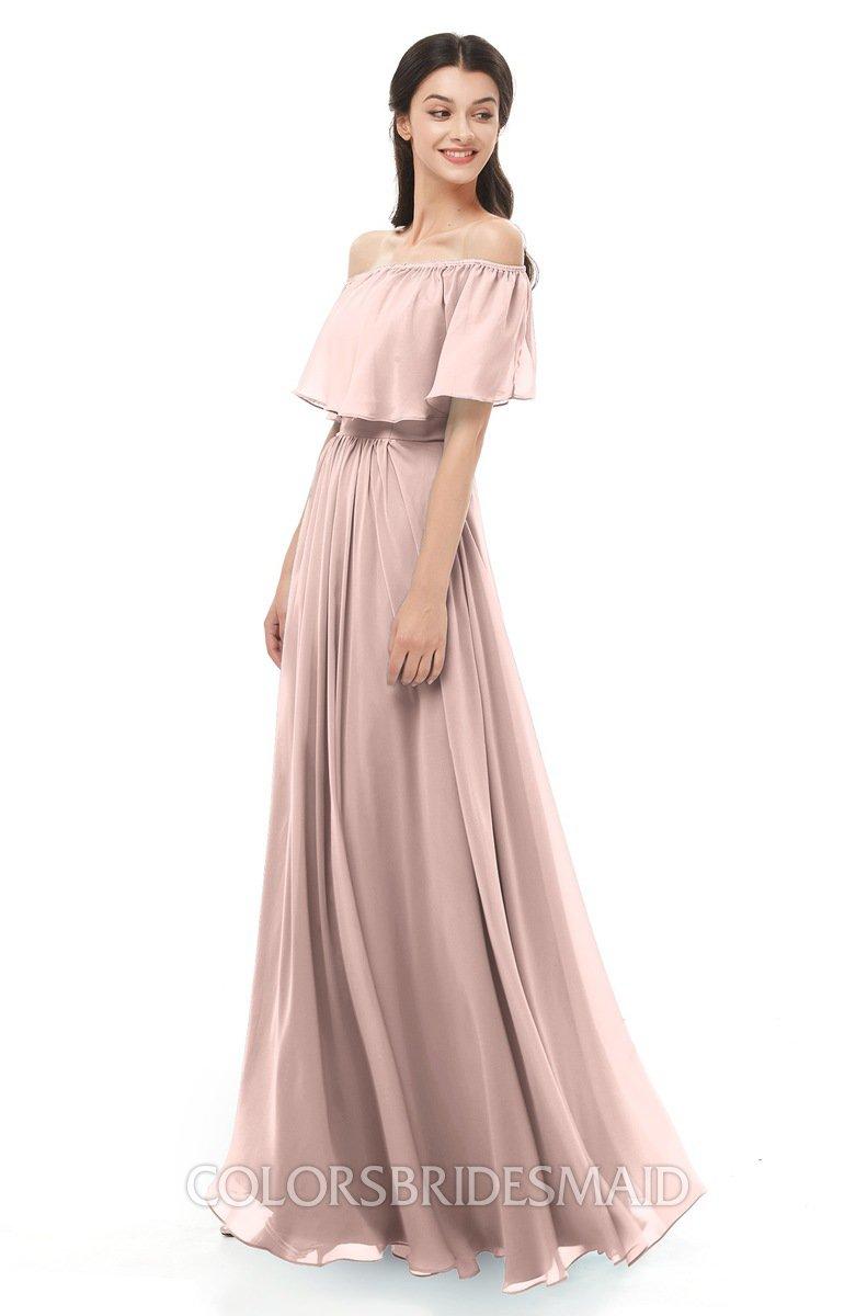 Colsbm Hana Dusty Rose Bridesmaid Dresses Colorsbridesmaid