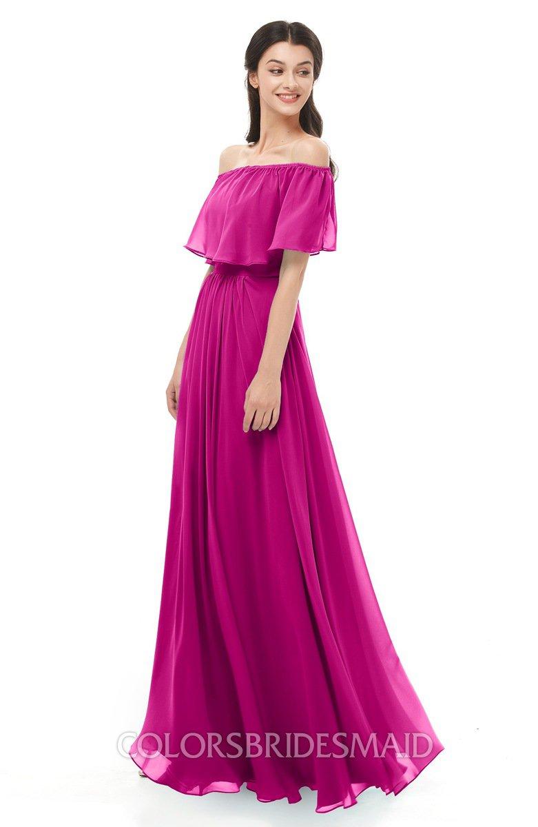 Colsbm Hana Hot Pink Bridesmaid Dresses