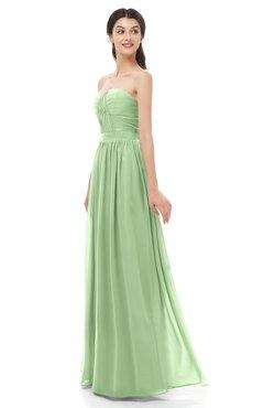 ColsBM Esme Gleam Bridesmaid Dresses Zip up A-line Floor Length Sleeveless Simple Sweetheart