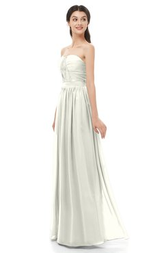 ColsBM Esme Ivory Bridesmaid Dresses Zip up A-line Floor Length Sleeveless Simple Sweetheart