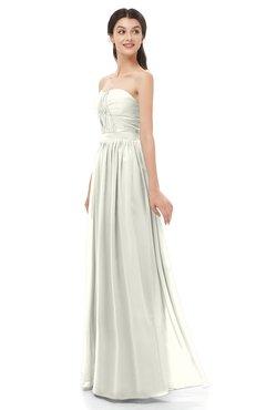 ColsBM Esme Ivory Bridesmaid Dresses Zip up A-line Floor Length Sleeveless Simple Sweetheart