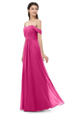 ColsBM Sylvia Cabaret Bridesmaid Dresses Mature Floor Length Sweetheart Ruching A-line Zip up