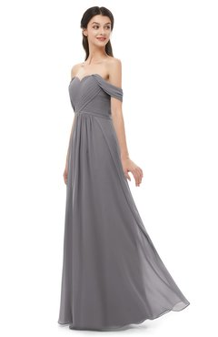 ColsBM Sylvia Storm Front Bridesmaid Dresses Mature Floor Length Sweetheart Ruching A-line Zip up