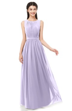 c19b1e3d5e0 ColsBM Briar Light Purple Bridesmaid Dresses Sleeveless A-line Pleated  Floor Length Elegant Bateau