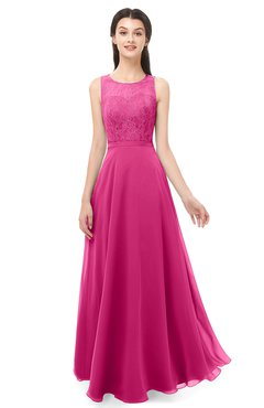 ColsBM Indigo Cabaret Bridesmaid Dresses Sleeveless Bateau Lace Simple Floor Length Half Backless