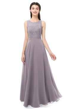 ColsBM Indigo Cameo Bridesmaid Dresses Sleeveless Bateau Lace Simple Floor Length Half Backless