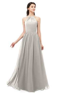 ColsBM Irene Ashes Of Roses Bridesmaid Dresses Sleeveless Halter Criss-cross Straps Sexy A-line Sash