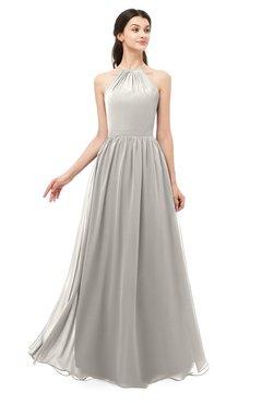 ColsBM Irene Hushed Violet Bridesmaid Dresses Sleeveless Halter Criss-cross Straps Sexy A-line Sash