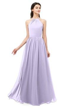 0a8e14cdde ColsBM Irene Light Purple Bridesmaid Dresses Sleeveless Halter Criss-cross  Straps Sexy A-line