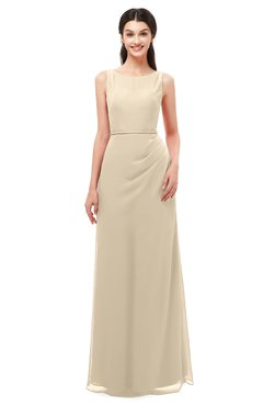 acc024b44ec3 ColsBM Livia Champagne Bridesmaid Dresses Sleeveless A-line Traditional  Pick up Floor Length Sabrina