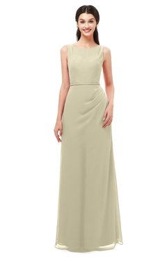 ColsBM Livia Putty Bridesmaid Dresses Sleeveless A-line Traditional Pick up Floor Length Sabrina