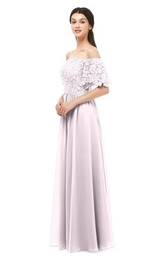 ColsBM Ingrid Blush Bridesmaid Dresses Half Backless Glamorous A-line Strapless Short Sleeve Pleated