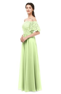 ColsBM Ingrid Butterfly Bridesmaid Dresses Half Backless Glamorous A-line Strapless Short Sleeve Pleated
