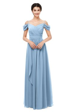 ColsBM Skylar Bridesmaid Dresses Spaghetti Sexy Zip up Floor Length A-line Pleated