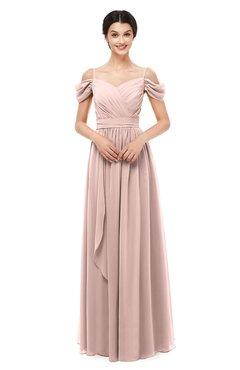 ColsBM Skylar Dusty Rose Bridesmaid Dresses Spaghetti Sexy Zip up Floor  Length A-line Pleated d244bc5420bc