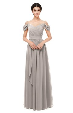 ColsBM Skylar Mushroom Bridesmaid Dresses Spaghetti Sexy Zip up Floor Length A-line Pleated