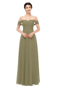 ColsBM Lydia Boa Bridesmaid Dresses Sweetheart A-line Floor Length Modern Ruching Short Sleeve