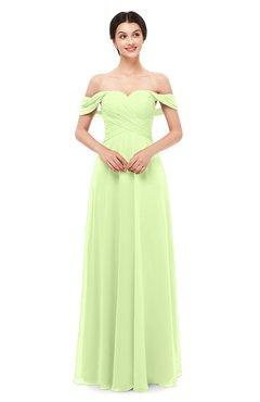 ColsBM Lydia Butterfly Bridesmaid Dresses Sweetheart A-line Floor Length Modern Ruching Short Sleeve