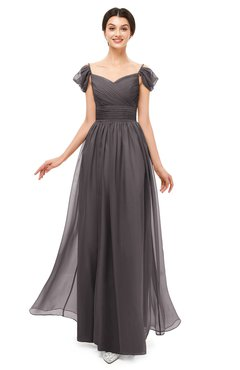ColsBM Paula Sparrow Bridesmaid Dresses Zipper Sexy Beaded Floor Length Short Sleeve Spaghetti